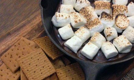 No more marshmallows…