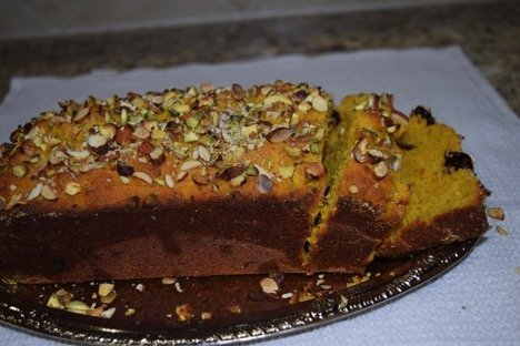 Weekend Getaway to Heaven- Mango Semolina Cake!