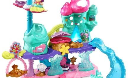 Review: Shimmering Seashell Castle by VTech