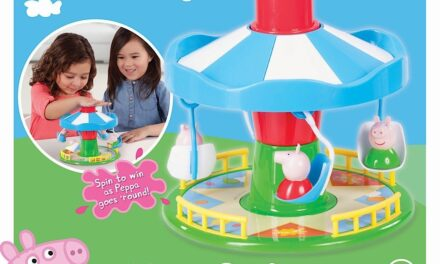 Peppa Pig: Review of Peppa's Fairground Ride Game by TCG