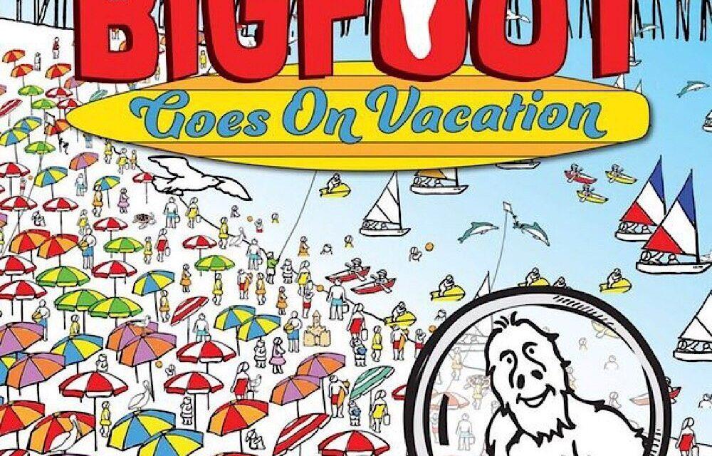 """BigFoot Seek and Find"": Interview with Illustrator D. L. Miller"