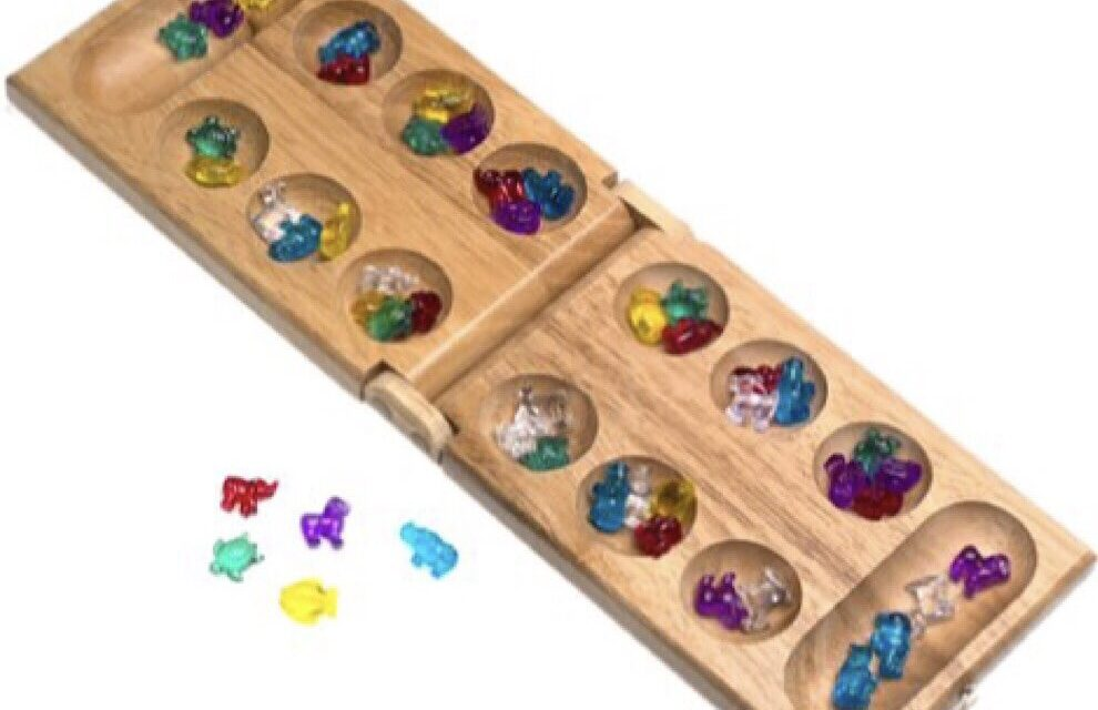 """Review: """"Mancala for Kids"""" by Pressman Toy"""