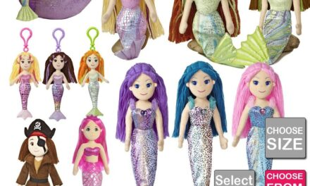 """Aurora World: Review of """"Sea Sparkles"""" and """"Sparkle Tales"""" Plush Toy Series"""