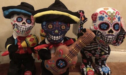 "Review: ""Las Calaveras"" Animatronic Sugar Skull Band by Cuddle Barn"