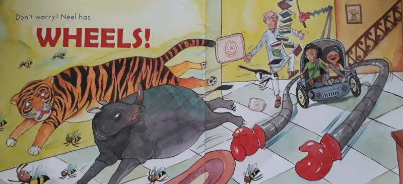 Neel On Wheels by Duckbill teaches the difference between sympathy and empathy