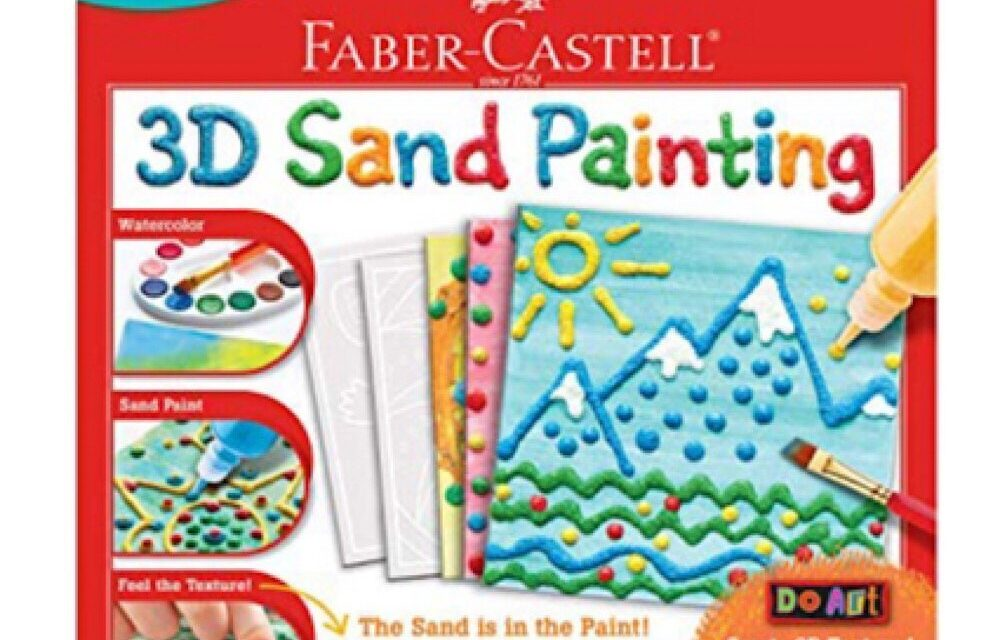 Review: 3D Sand Painting by Faber Castell