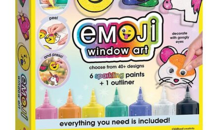 Review: Emoji Window Art by Faber Castell
