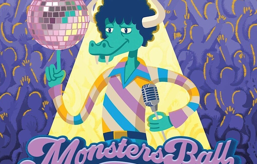 """Michael & the Rockness Monsters Release """"Monster's Ball"""""""