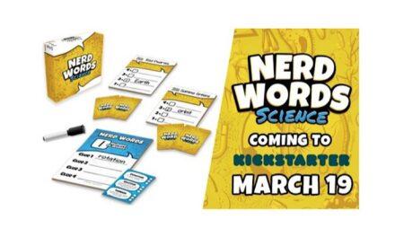 """Genius Games Launches Kickstarter for """"Nerd Words: Science!"""""""