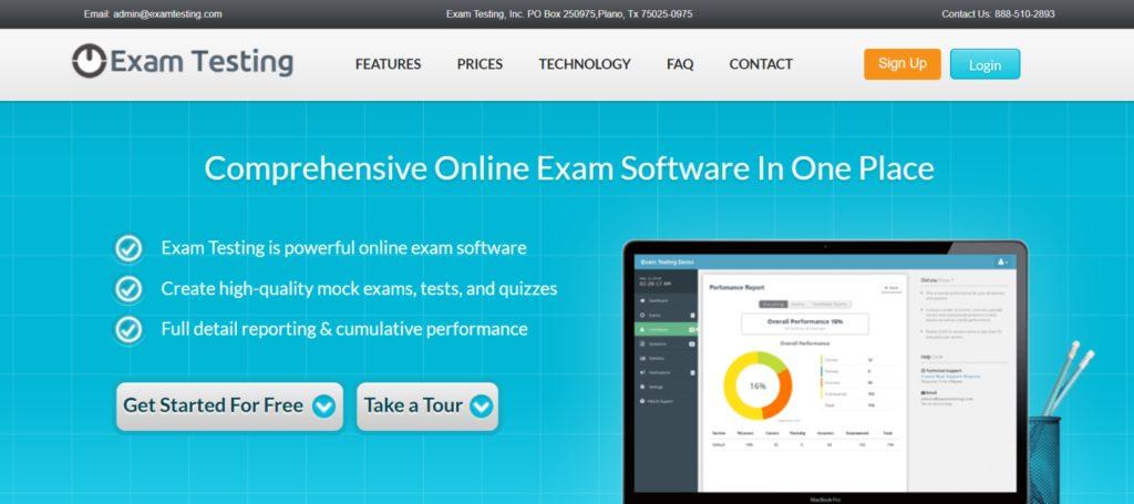Exam Testing- Online Test maker tool