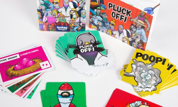 Card Games: Pluck Off! For A Parody Of City Life