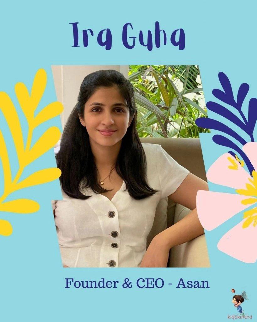 Ira Guha- Founder of Asan Menstrual Cup