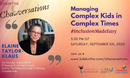 Managing Complex Kids in Complex Times' with Elaine Taylor-Klaus
