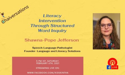 Literacy intervention through structured word inquiry with Shawna-Pope Jefferson