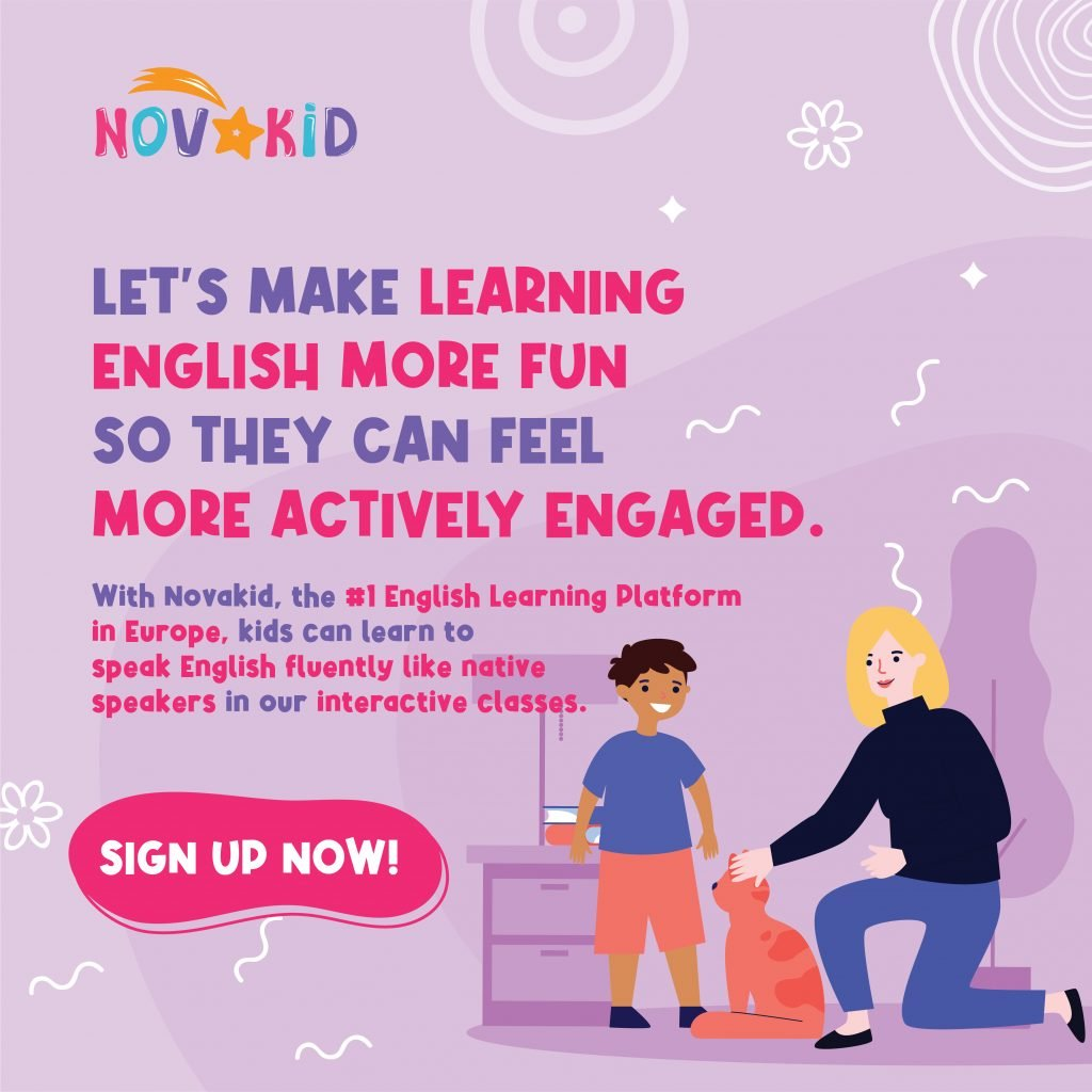 How to learn a new language NOVAKID